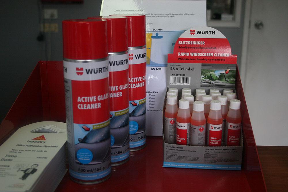 Windscreens Repair Kits